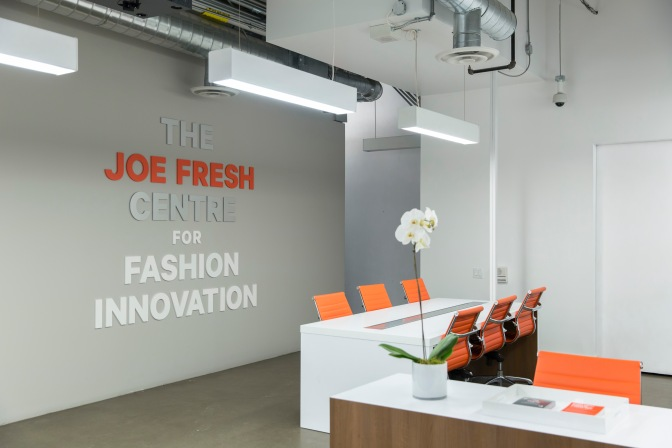 OPEN CALL | The Joe Fresh Centre for Fashion Innovation is Now Accepting Applications